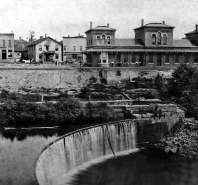 Canal Dam