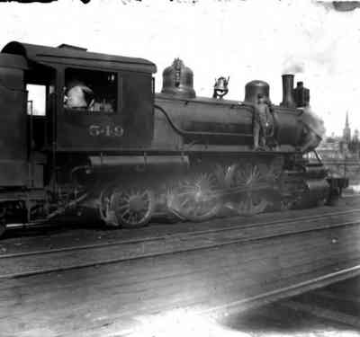 Early Steam Locomotive