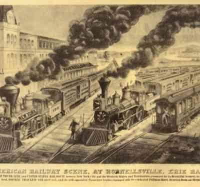 Erie Rr Illustration